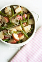 Green Bean Potato Salad @ NancyC