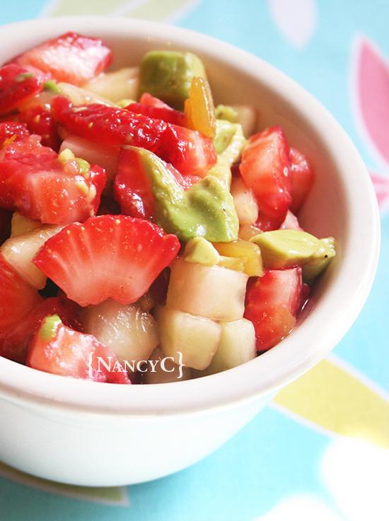 Strawberry Salsa @ NancyC