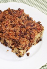 Chocolate Crumb Cake@NancyC