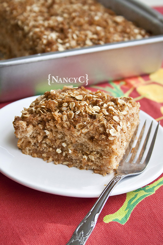 Caramel Apple Coffee Cake @ NancyC
