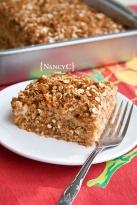 Caramel Apple Coffee Cake @ NancyC