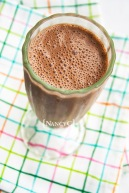 Chocolate PB Oat Shake @ NancyC