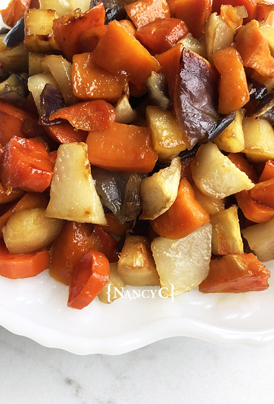 honey roasted root veggies @ nancyc