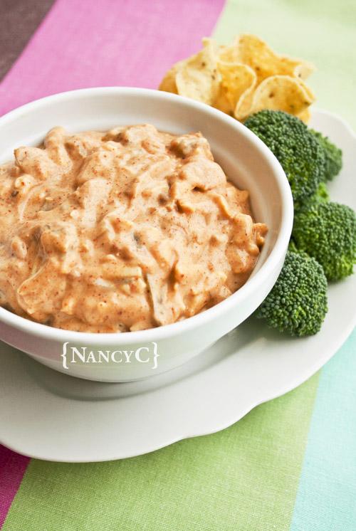 Creamy Salsa Yogurt Dip @ NancyC