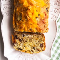 Olive Cheddar Quick Bread