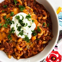 Cheesy Goulash