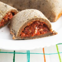 Healthy Pizza Pockets from Mikey's