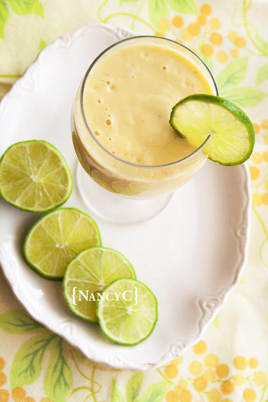 Banana Mango Orange Smoothie @ NancyC
