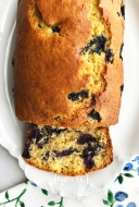 Orange Blueberry Bread @ NancyC