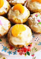 Orange Almond Muffins @ NancyC