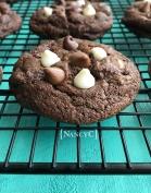 Triple Chip Chocolate Cookies @ NancyC