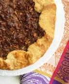 Chocolate Pecan Tassie Galette @ NancyC
