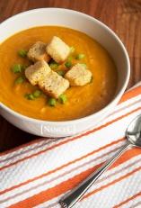 Creamy Pumpkin Soup @ NancyC