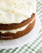 Sweet Potato Cinnamon Cake @ NancyC