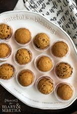 Easy Pumpkin Muffins @ NancyC