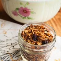 Honey Bran Granola