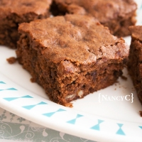 Chocolate Chip Chocolate Syrup Brownies