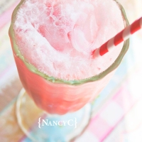 Strawberry-Coconut Cream Soda