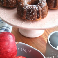 Mini Apple Bundts