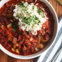 Red Beans and Rice Chili