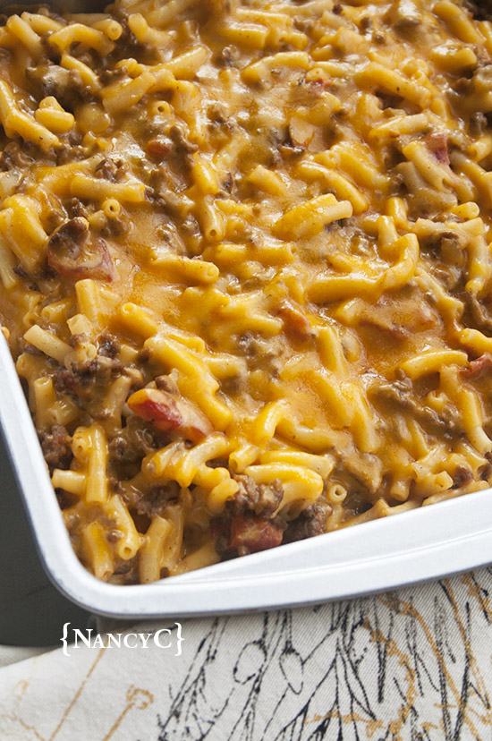 Easy Cheeseburger Mac & Cheese