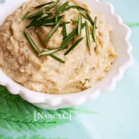 Rosemary-Garlic White Bean Dip