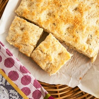 Rosemary Focaccia Biscuit Bread